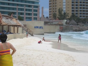 Krystal Cancun beach